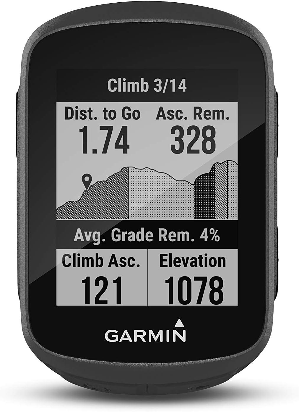 ciclocomputador GPS compacto con funciones de entrenamiento Garmin Edge 130 Plus