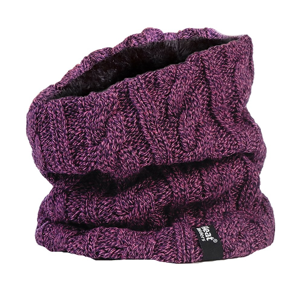 Heat Holders - Women's Thermal Winter Neck Warmer Gaitor - 3.5 Tog - One Size (Purple)