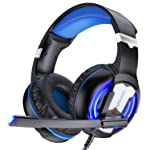VersionTECH. Gaming Headset for PC PS4 Xbox One, G-1 Gaming Headphones with Mic, Led Light, Volume Control, Compatible...