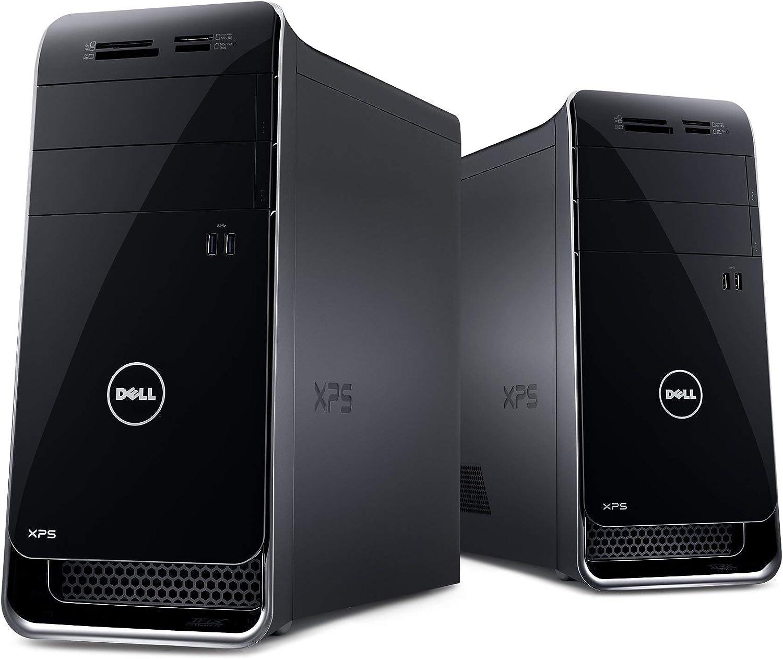 Dell XPS X8700-1876BLK Desktop (3.9 GHz Intel Core i7-4770 Processor, 12GB DDR3, 1TB HDD, NVIDIA GeForce GTX 645, Windows 8) Black (Discontinued by Manufacturer) (Certified Refurbished)
