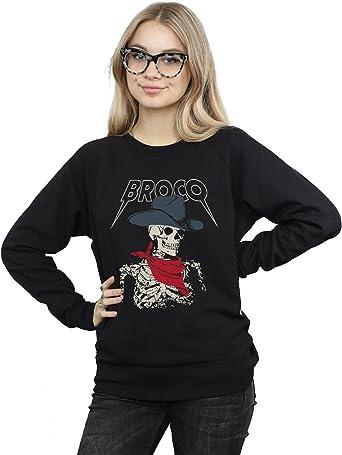Absolute Cult Don Broco Mujer Cowboy Skeleton Camisa De ...