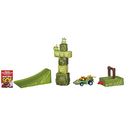 Angry Birds Go Tower Takedown Game
