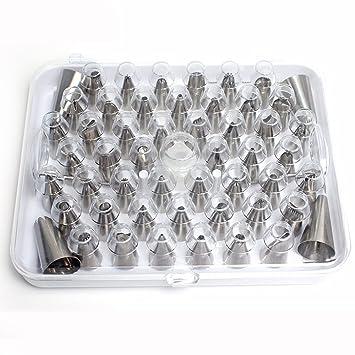 Emmet muchos en 1 molde para repostería profesional de acero inoxidable dispensador de Kit de decoración