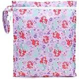 Bumkins Disney Baby Zippered Wet Bag, Princess Ariel
