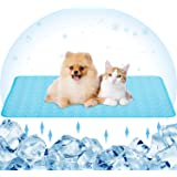 Dog Cooling Mat Pet Cool Pad Mats for Dogs and Cats Indoor Outdoor, Keep Cool Ice Silk Sleeping Mats for Summer Hot Weather,