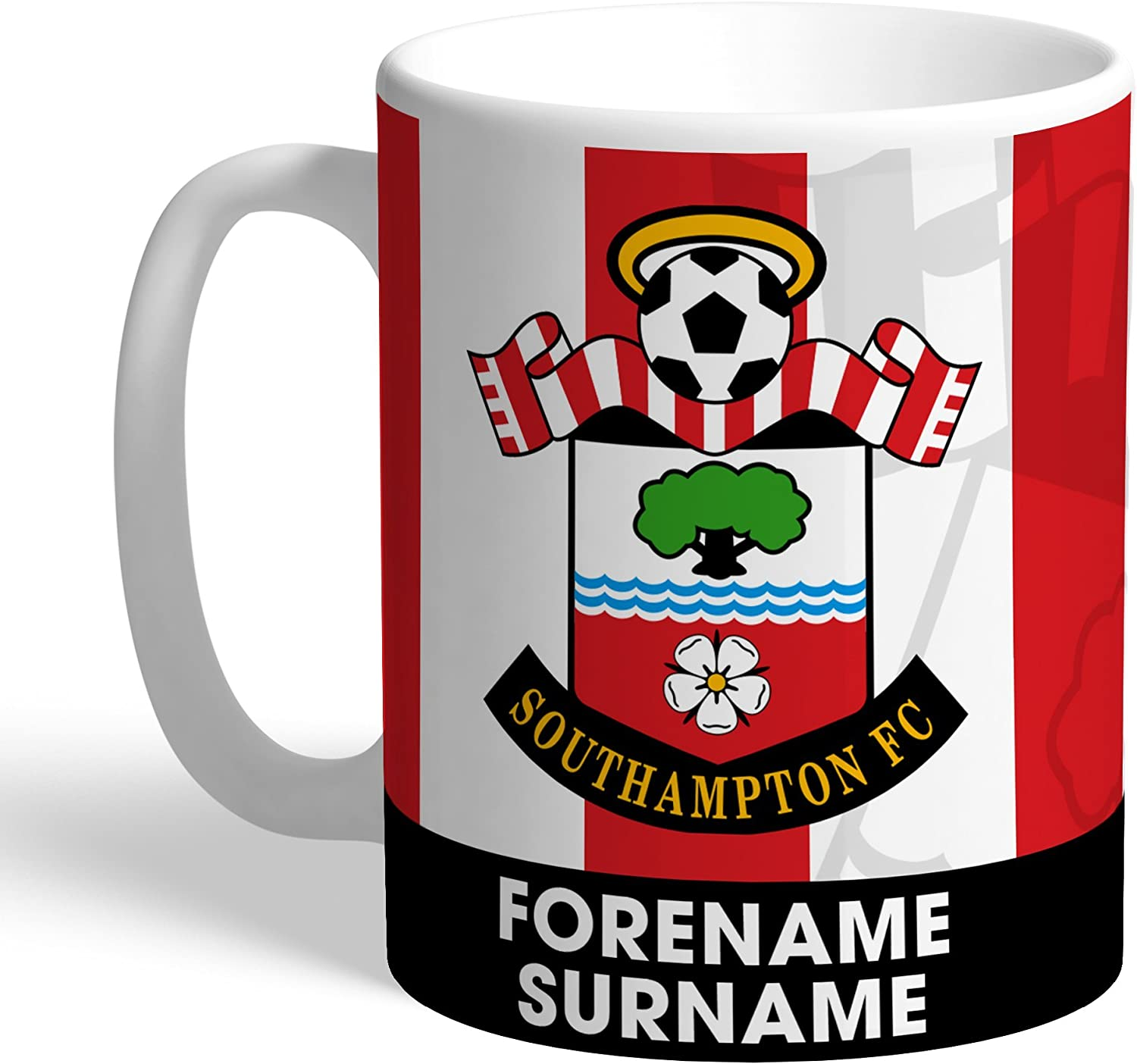 Official PERSONALISED Southampton FC Best Dad Ever Mug