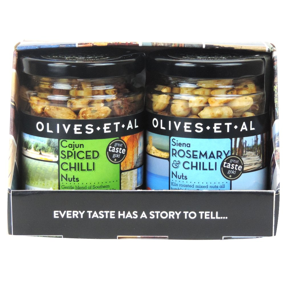 Olives Et Al - Double Nut Gift Box (Case of 6)
