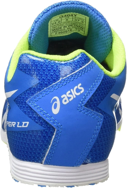 ASICS Unisex-Erwachsene Hyper Ld 5 Leichtathletikschuhe Blau (Diva Blue/White/Aqua Splash)
