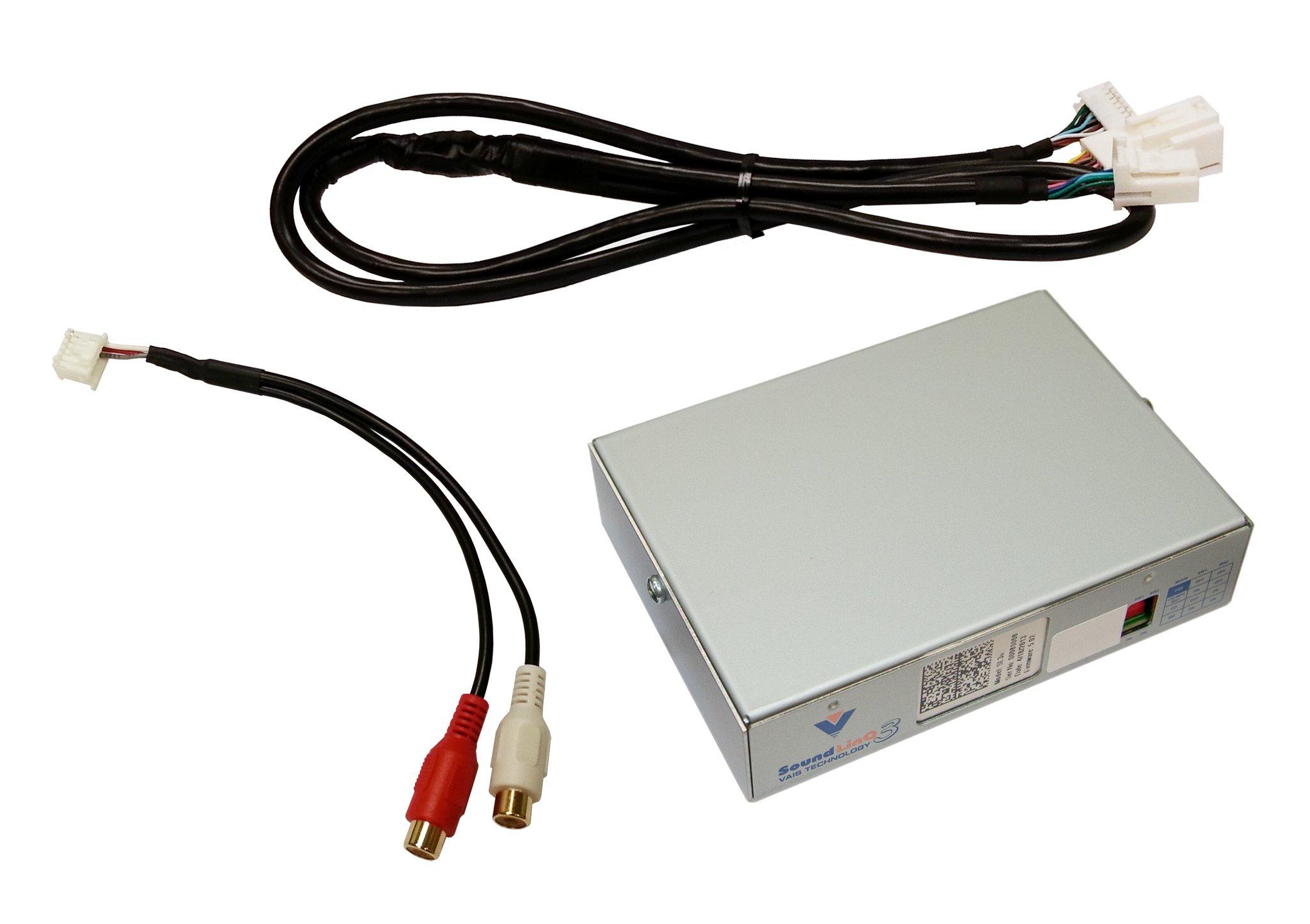 SL3u-L Universal AUX adapter for compatible Lexus vehicles