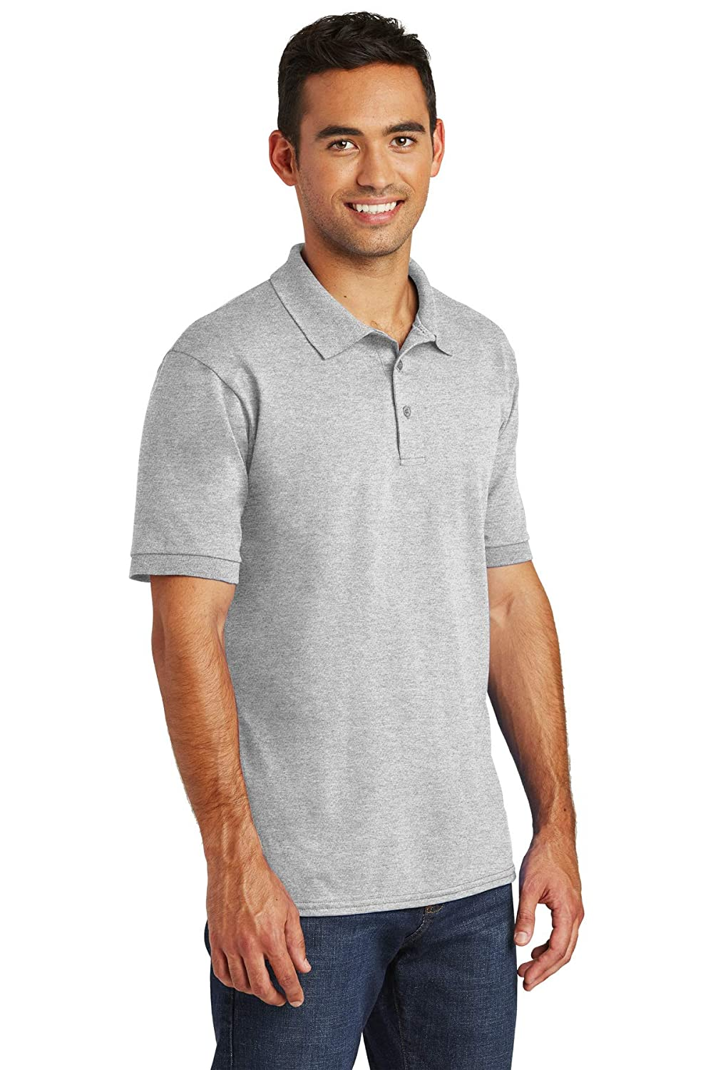 Amazon Custom Embroidered Polo Shirts Jerzees Spotshield And