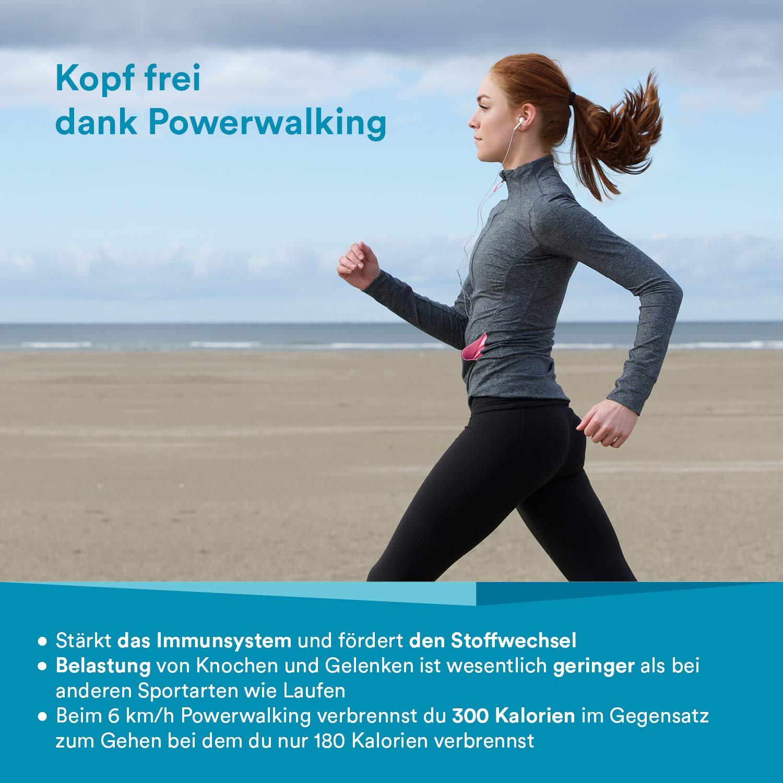 Skandika Walking Pad - Cinta de correr para entrenamiento GEH y ...