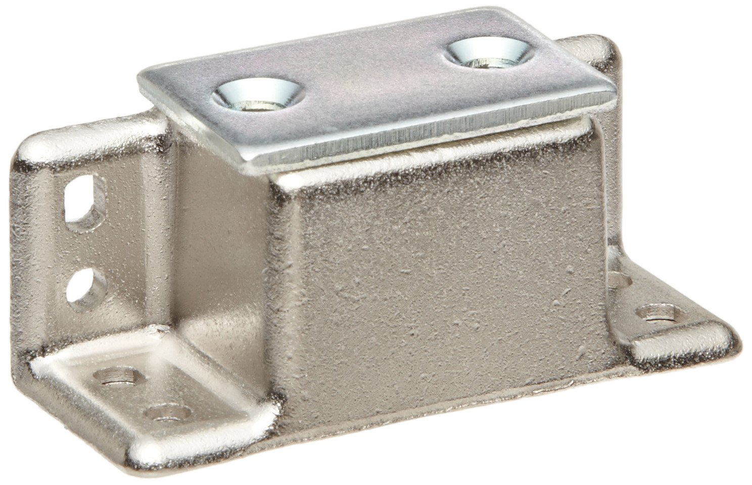 Zinc Surface Mount Heavy Duty Magnetic Catch, 15.4lbs Pull Power, 1-31/32'' Length x 27/32'' Width x 25/32'' Height (Pack of 1)