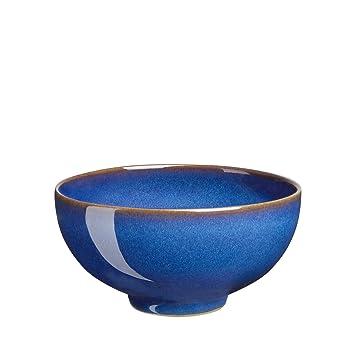 Denby Imperial Blue Rice Bowl  sc 1 st  Amazon.com & Amazon.com: Denby Imperial Blue Rice Bowl: Denby Reflex Bowls ...