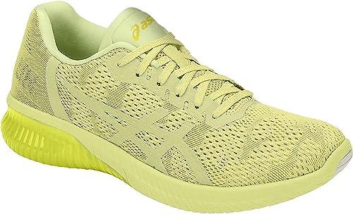 yellow asics womens