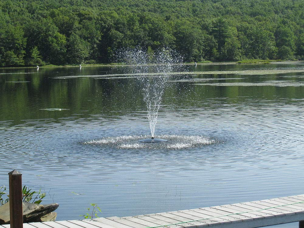 Fawn Lake Fountains SF25 Floating Fountain by Fawn Lake Fountains