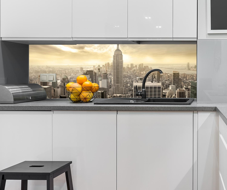 B x H wandmotiv15 Küchenrückwand New York Skyline View