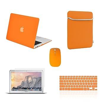 Top Case – 5 en 1 Bundle Deal – Carcasa Graphic, Diseño de teclado Funda
