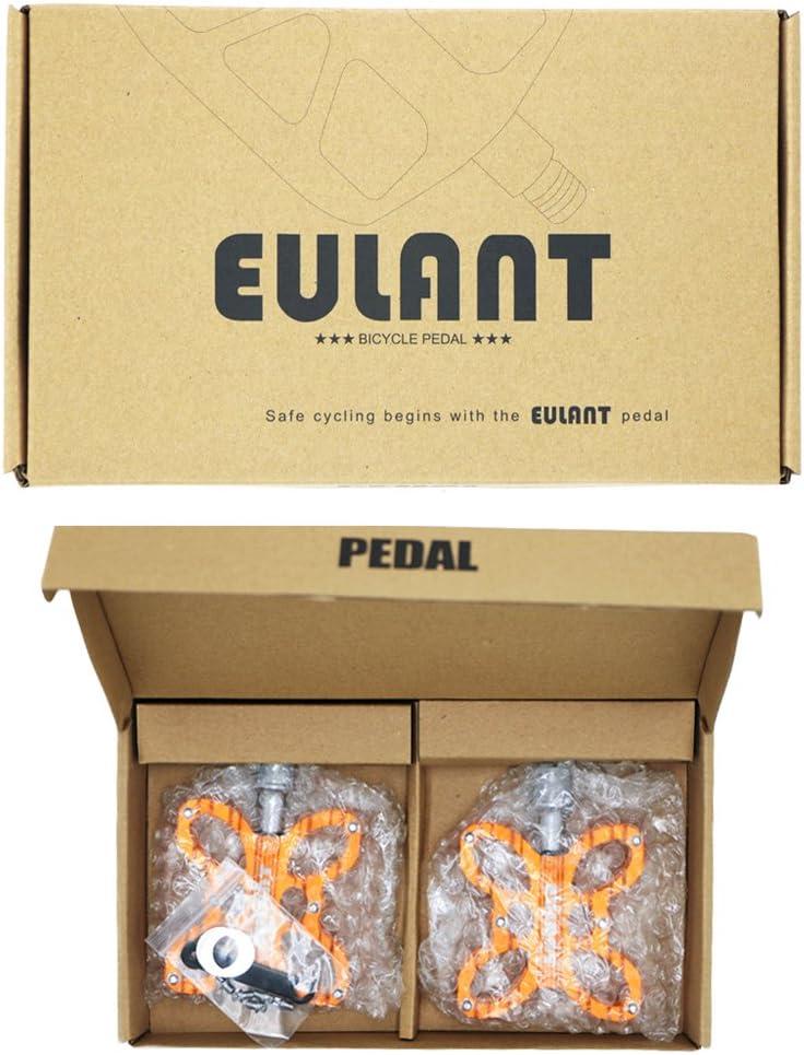 EULANT Fahrrad Pedale,MTB Pedale,Aluminium Fahrradpedale