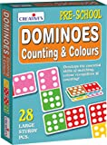 Creative Educational Creative Pre-School Counting and Colours Dominoes