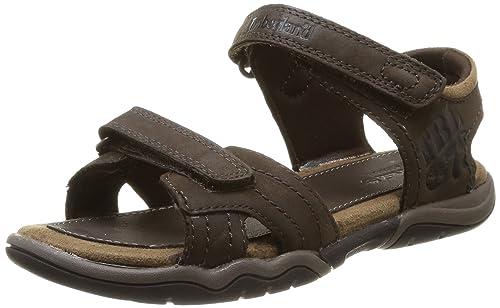 Timberland Earthkeepers Oak Bluffs, Boy's Sandals, Brown (Dark Brown), 9.5  Child