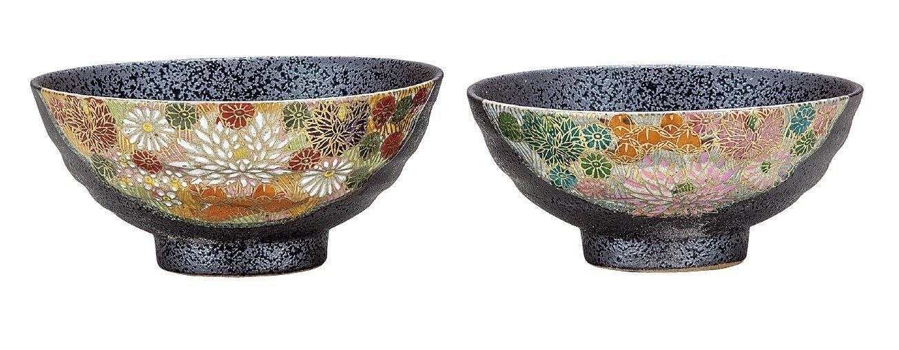 KUTANI Ware Ricebowl / Kim Flower