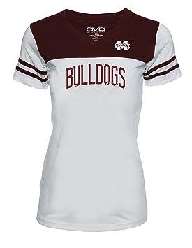 Old Varsity – Marca de la mujer Tee Mississippi Estado jrs Plus camiseta de fútbol,