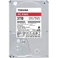 """TOSHIBA P300 disque dur interne 3 To – 3,5"""" (pouces) – disque dur SATA (HDD) – 7200 tours par minute (tpm) – 6 Go/s – pour ordinateurs de jeu, PCs de bureau, stations de travail, etc."""
