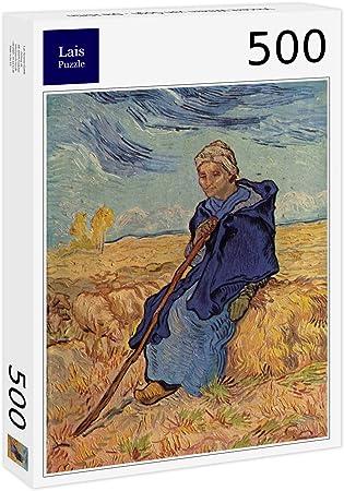Lais Puzzle Vincent Willem Van Gogh - La pastora 500 Piezas ...