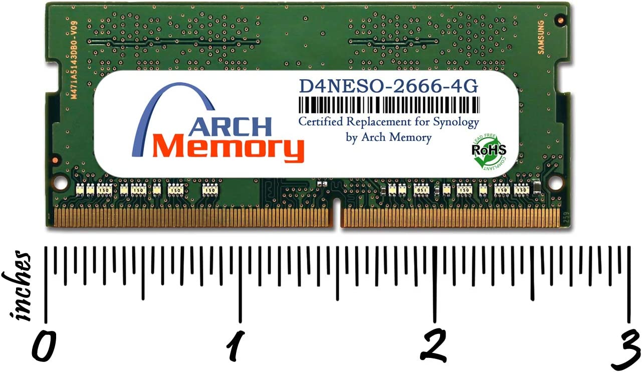 Arch Memory 4 GB 204-Pin DDR3 So-dimm RAM for HP G62-371DX