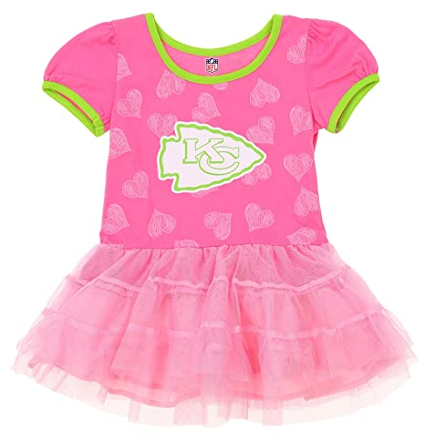 173c28f0 Amazon.com: Outerstuff NFL Toddler Girl's Kansas City Chiefs Love to ...
