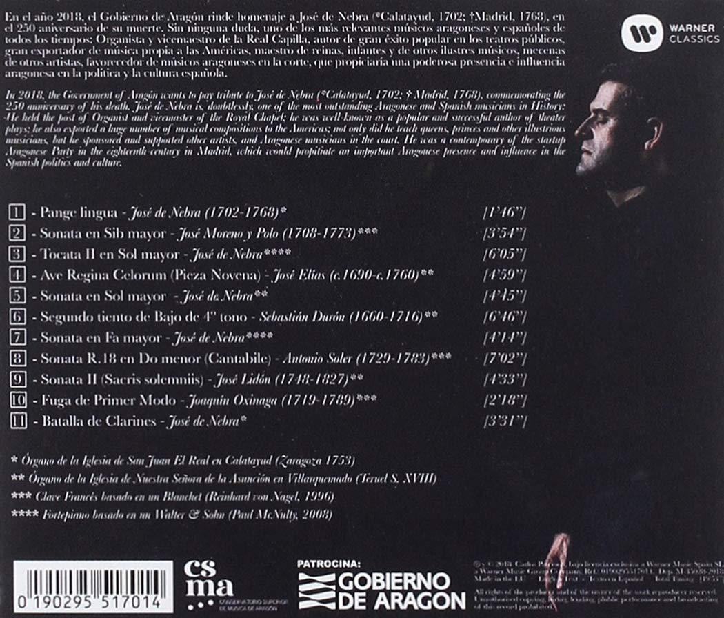 Música Para Tecla En Tiempos De José Nebra: Carlos Paterson, José Moreno y Polo José de Nebra: Amazon.es