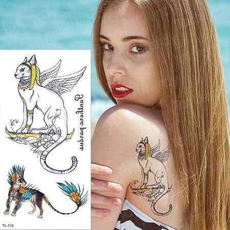 Handaxian 3pcs Tatuaje Pegatina niños Tatuaje Largo dragón Animal ...