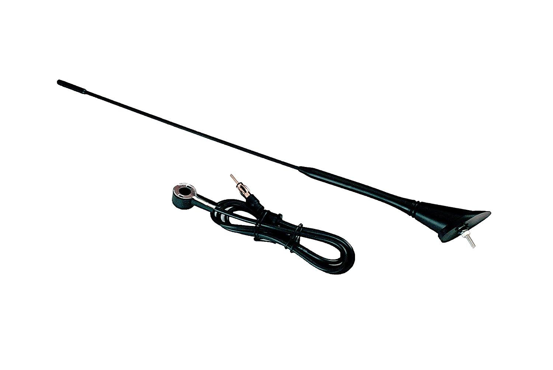 1,20m Universal Fahrzeugantenne Autoantenne Stabantenne Radioantenne INION/® Dachantenne 40cm mit Antennenfuss und Kabel
