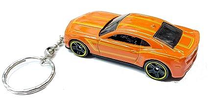 Branded Automotive Merchandise Diecast 1970 Chevrolet Camaro Orange Toy Car Keyring Keychain Recorded Delivery