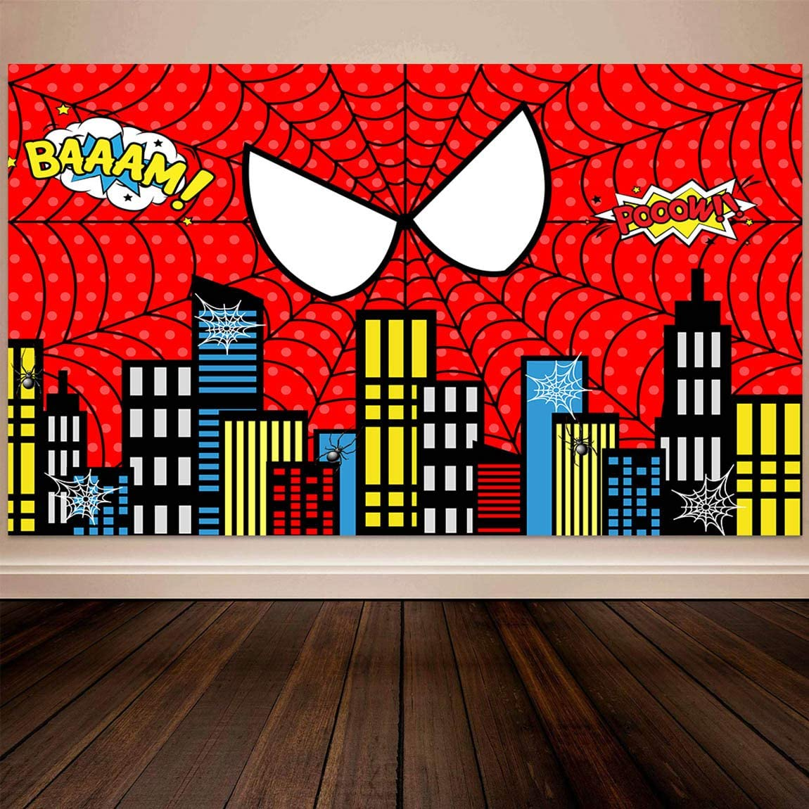 Spiderman Backdrops 5×3 Ft