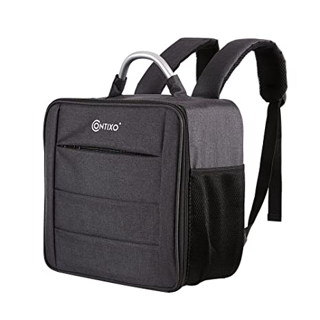 53af3e27cd6d Contixo Waterproof Multi-Purpose Backpack Travel Bag, Large Outdoor Camera  Carry Case Storage Bag for Contixo F18 Drone, Force1, MJX Bugs 2, Kedior,  ...