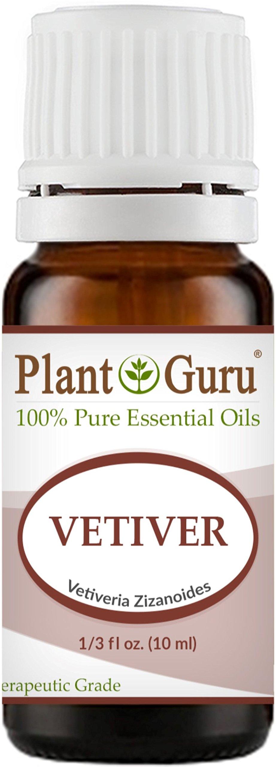 Vetiver Essential Oil 10 ml 100% Pure Undiluted Therapeutic Grade.