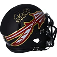 "$55 » Charlie Ward Florida State Seminoles Autographed Riddell AMP Alternate Speed Mini Helmet with""93 Heisman"" Inscription - Fanatics Authentic Certified"