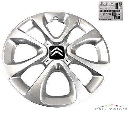 Wheeltrims Set de 4/embellecedores nuevos para Citroen C4//C1//C2//C3//C5//C8//Nemo//Berlingo//Xsara Picasso con Llantas Originales de 15/
