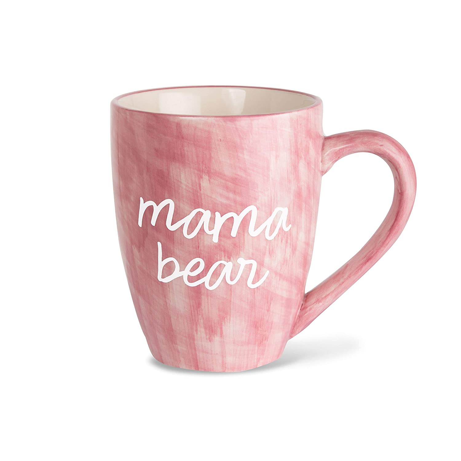 mama bear pink coffee mug