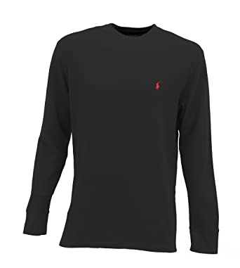 Ralph Lauren Men\u0027s Pajama Long Sleeve Shirt Black 3XL at Amazon Men\u0027s  Clothing store: