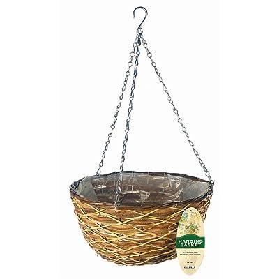 """Gardman R486 Lattice Hanging Wall Basket, 14"""" Wide x 8"""" Deep: Garden & Outdoor"""