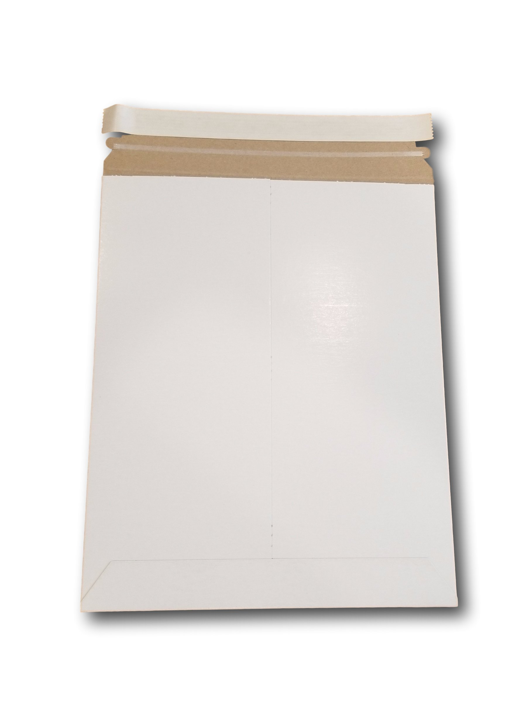 MT Products 9 3/4'' x 12 1/4'' Document/Photo Self - Seal Rigid Stay Flat Mailer/Envelope (15 Pieces)