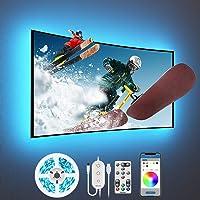 Govee Tiras LED TV 3m, Luces LED RGB Retroiluminación con Control App, Modos Música y Escena, para TV y Computadora
