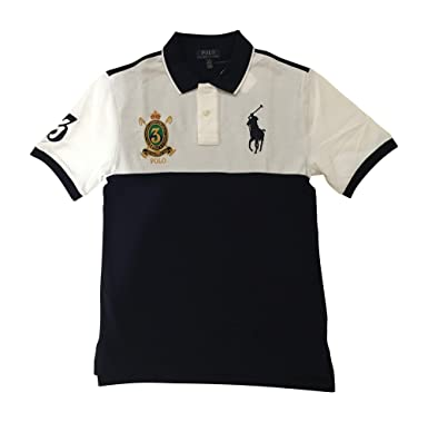 127ee3d92 Amazon.com  Polo Ralph Lauren Boys Youth Big Pony Crest Polo Shirt ...