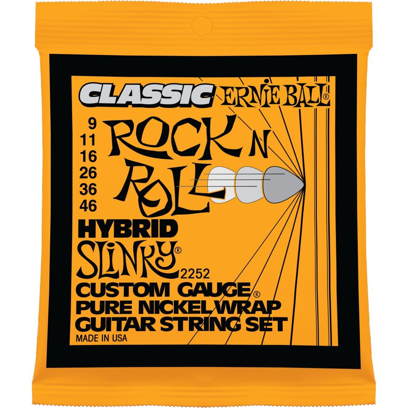 .009 Ernie Ball Classic Pure Nickel Super Slinky Set .042