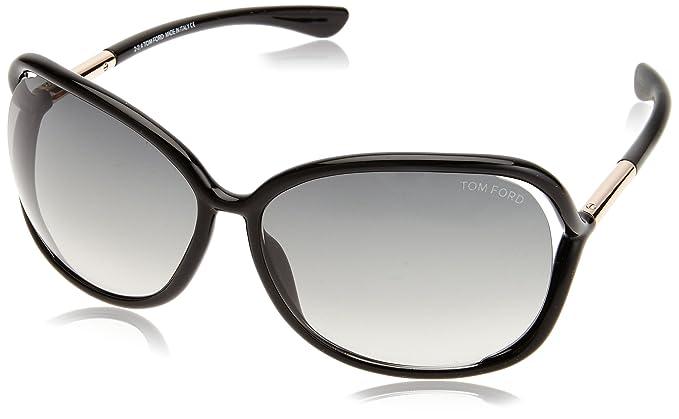 Tom Ford Gafas de Sol FT0076I_199 (63 mm) Negro: Amazon.es ...