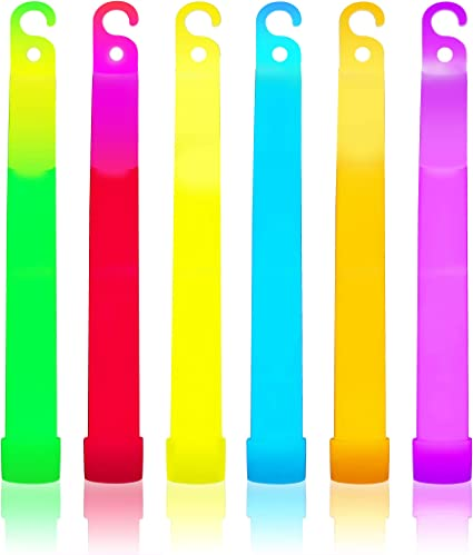 "25 6/"" Premium Thick Party Light Glow Sticks BLUE"