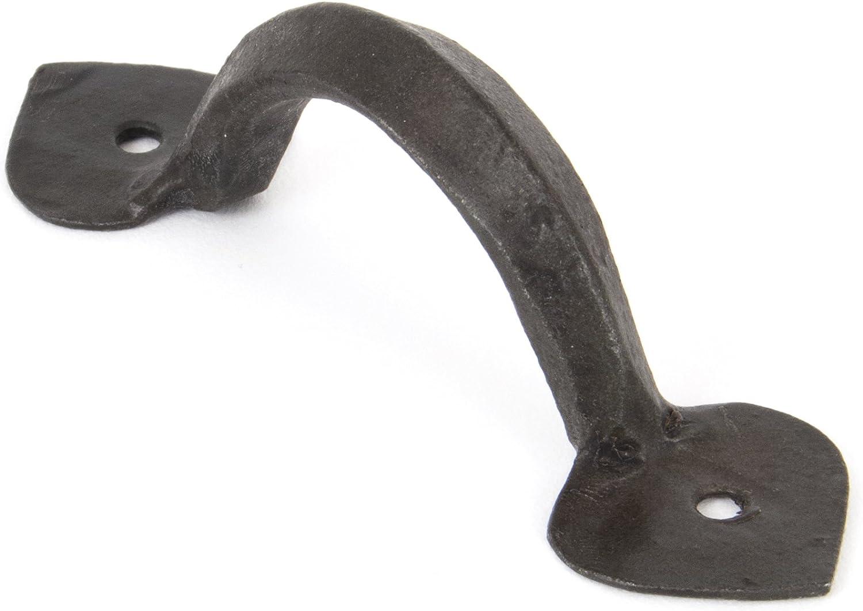 From the Anvil 33151 - Tirador de hierro para puerta o cajones, modelo en forma de D