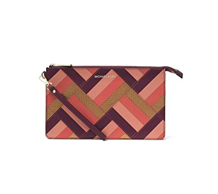 e76db3b9c0e2 Image Unavailable. Image not available for. Color: Michael Kors Womens Daniela  Leather Patchwork ...